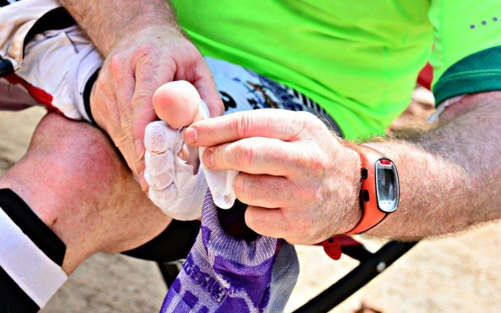 Footcare for Adventure Racing